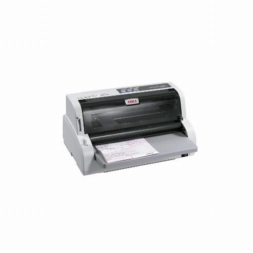 Матричный принтер Oki ML5100FB-ECO (Монохромный (черно - белый) 24 иглы USB RS-232C LPT 450 зн/сек