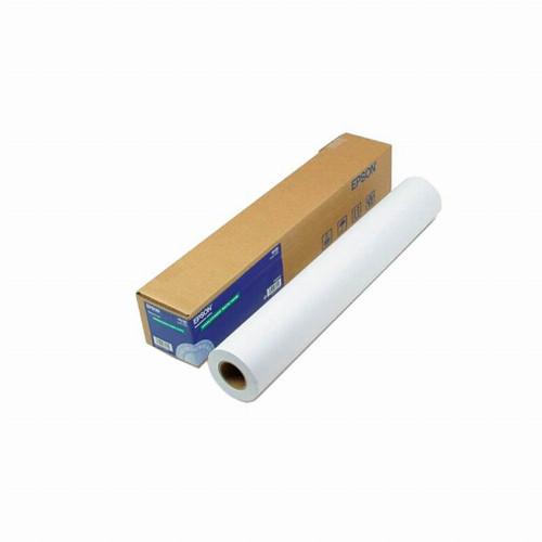"""Бумага для плоттеров (рулонная) Epson Bond Paper White(А0+ 2"""" 50.8 мм 50м 80г/м2 Матовая 42""""/1067мм)C13S045276"""