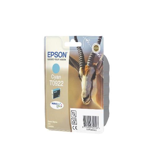 Струйный картридж Epson T0922 (Оригинальный, Голубой - Cyan) C13T10824A10