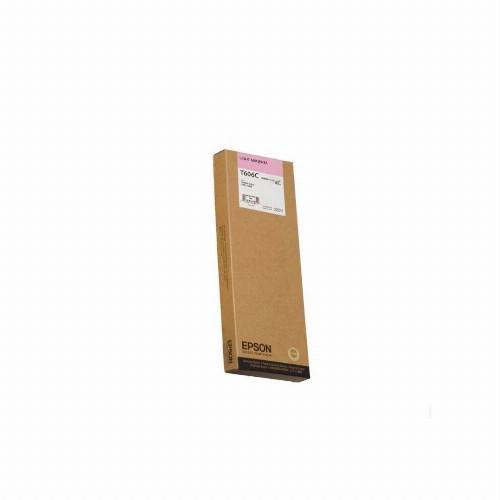 Струйный картридж Epson T606C (Оригинальный, Светло-пурпурный - Light magenta) C13T606C00