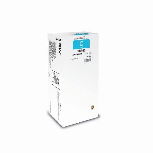 Струйный картридж Epson T8392 (Оригинальный, Голубой - Cyan) C13T839240