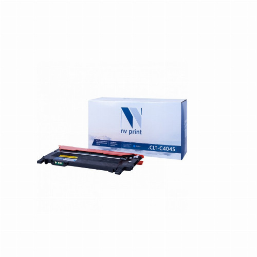 Лазерный картридж NV Print NV-CLT-C406S (Совместимый (дубликат) Голубой - Cyan) NV-CLTC406SC