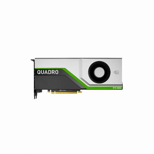 Видеокарта PNY Quadro RTX5000 (Nvidia, 16 Гб, GDDR6X, 256 бит, PCI-E 3.0 x 16, 1 x DVI-D, 4 x Display port, 8-pin x 1) VCQRTX5000-PB