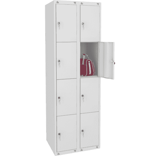 Шкаф металлический для сумок 8 ячеек (800х490х1850) арт. ШМ28/400
