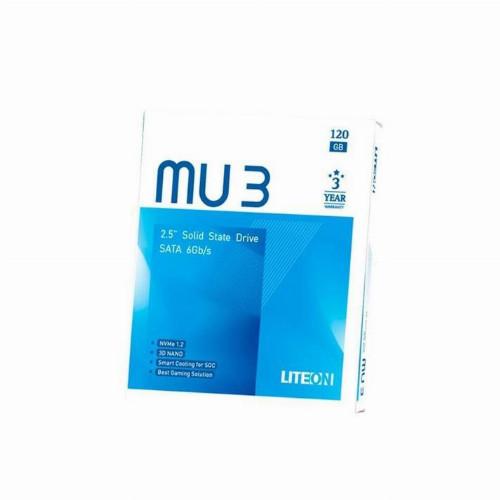 Жесткий диск внутренний LiteOn MU 3  PH6-CE120-G 120 Гб SSD 2,5″ Для ноутбуков SATA PH6-CE120-G