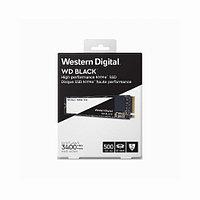 Жесткий диск внутренний Western Digital BLACK WDS500G2X0C 500Гб SSD M.2 Для ноутбуков PCIe WDS500G2X0C
