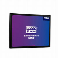 Жесткий диск внутренний GOODRAM Т CX 400 (512 Гб, SSD, 2,5″, Для ноутбуков, SATA) SSDPR-CX400-512