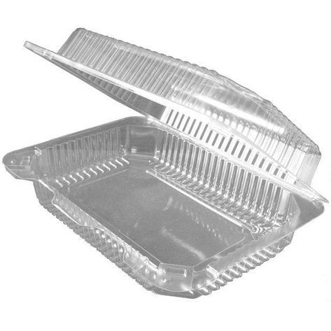 Упаковка прям. внеш. 240x172x71мм, внутр. 215х149х63мм, прозрачная, ОПС, 400 шт, фото 2