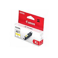 Струйный картридж Canon CLI-451XL (Оригинальный, Желтый - Yellow) 6475B001