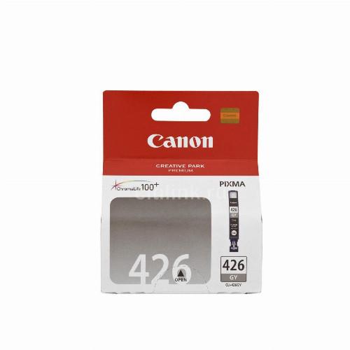 Струйный картридж Canon CLI-426GY (Оригинальный, Черный - Black) 4560B001