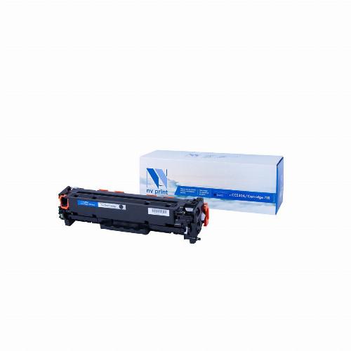Лазерный картридж NV Print NV-CC530A/NV-718 (Совместимый (дубликат) Черный - Black) NV-CC530A/718Bk