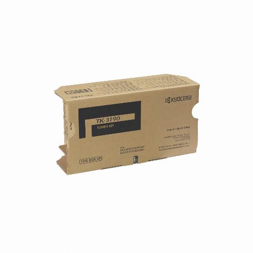 Тонер картридж Kyocera TK-3190 (Оригинальный Черный - Black) 1T02T60NL1