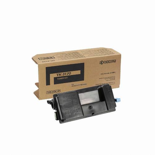 Тонер картридж Kyocera TK-3170 (Оригинальный Черный - Black) 1T02T80NL1