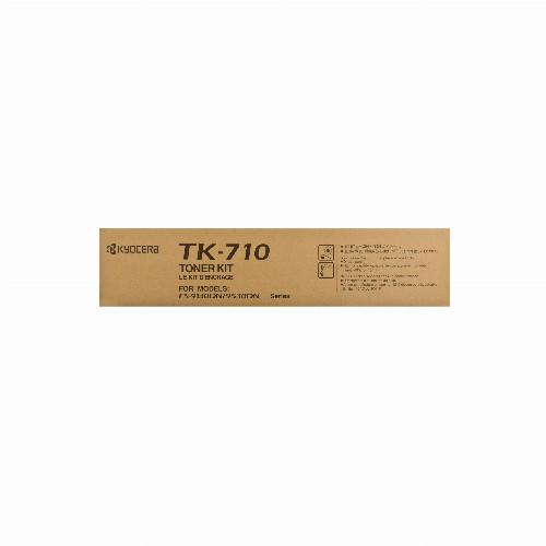 Тонер картридж Kyocera TK-710 (Оригинальный Черный - Black) 1T02G10EU0
