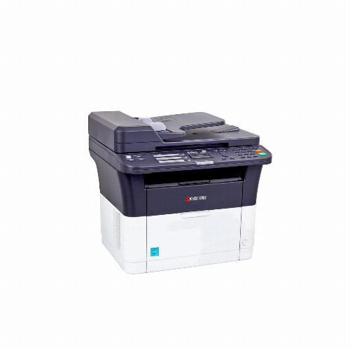 МФУ Kyocera FS-1025MFP (Лазерный, A4, Монохромный (черно - белый), USB, Ethernet, Планшетный) 1102M63RU2