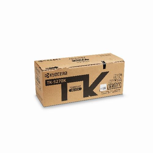 Тонер картридж Kyocera TK-5270K (Оригинальный Черный - Black) 1T02TV0NL0