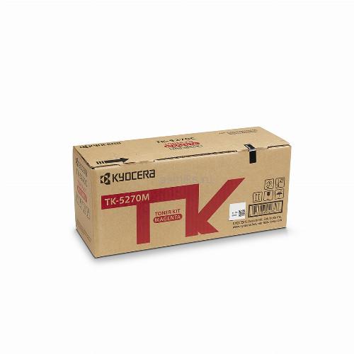 Тонер картридж Kyocera TK-5270M (Оригинальный Пурпурный - Magenta) 1T02TVBNL0