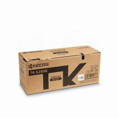 Тонер картридж Kyocera TK-5280K (Оригинальный Черный - Black) 1T02TW0NL0