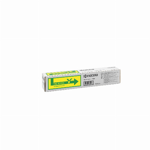 Тонер картридж Kyocera TK-5195Y (Оригинальный Желтый - Yellow) 1T02R4ANL0