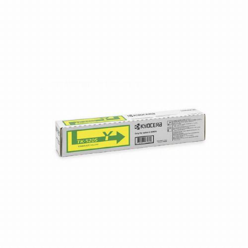 Тонер картридж Kyocera TK-5205Y (Оригинальный Желтый - Yellow) 1T02R5ANL0