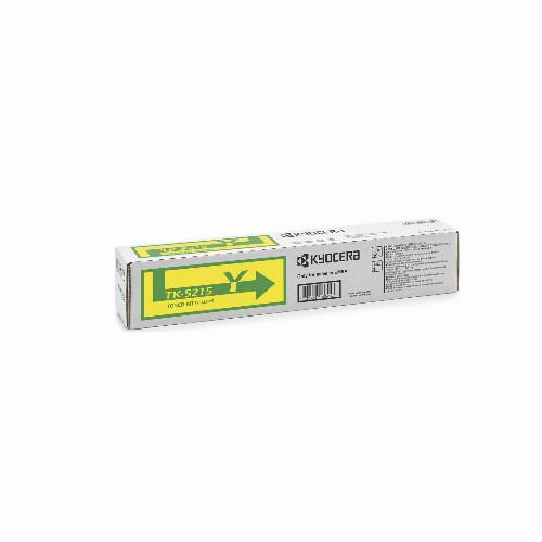 Тонер картридж Kyocera TK-5215Y (Оригинальный Желтый - Yellow) 1T02R6ANL0