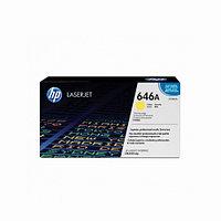 Лазерный картридж HP 646A (Оригинальный, Желтый - Yellow) CF032A