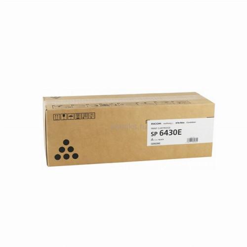 Тонер картридж Ricoh SP 6430E (Оригинальный Черный - Black) 407510