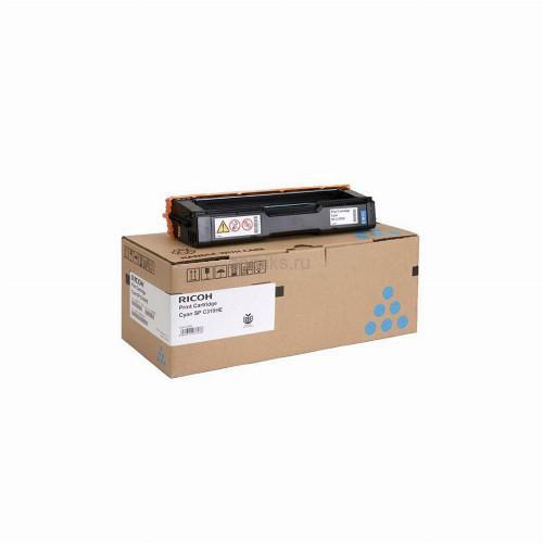 Лазерный картридж Ricoh SPC340E (Оригинальный Голубой - Cyan) 407900