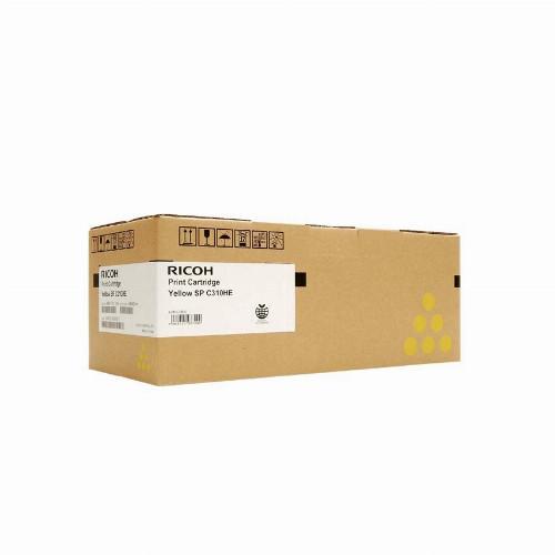 Лазерный картридж Ricoh SPC310HE (Оригинальный Желтый - Yellow) 407635