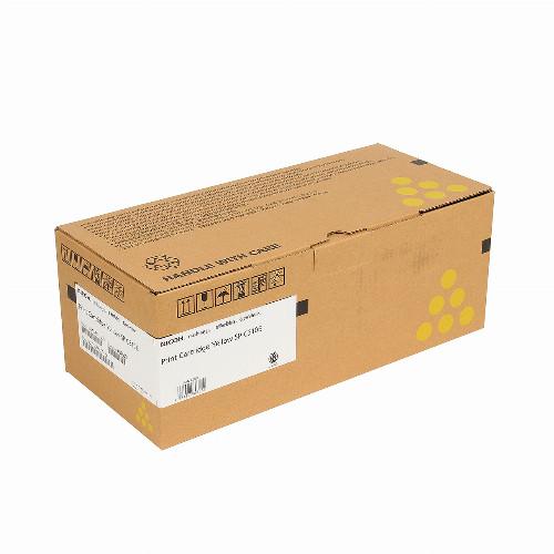 Лазерный картридж Ricoh SPC310E (Оригинальный Желтый - Yellow) 407639