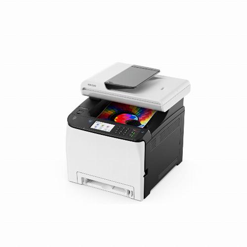МФУ Ricoh SP C261SFNw (Лазерный, A4, Цветной, USB, Ethernet, Wi-fi, Планшетный) 408237
