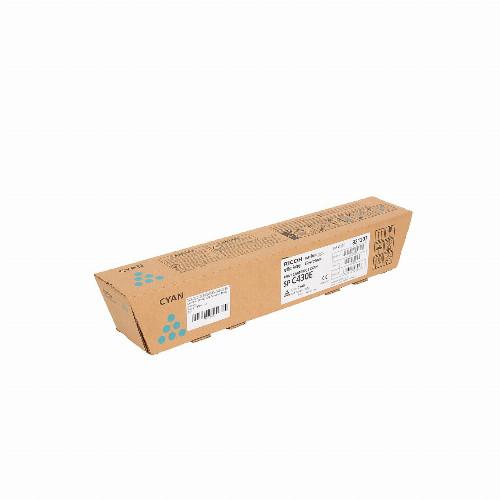 Тонер картридж Ricoh SP C430E (Оригинальный Голубой - Cyan) 821280