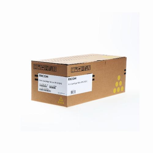 Лазерный картридж Ricoh SPC252HE (Оригинальный Желтый - Yellow) 407719