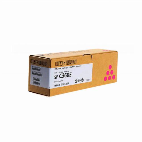 Лазерный картридж Ricoh SP C360E (Оригинальный Пурпурный - Magenta) 408190