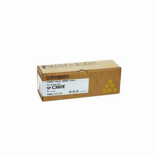 Лазерный картридж Ricoh SP C360E (Оригинальный Желтый - Yellow) 408191