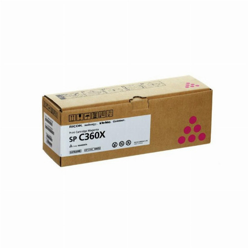 Лазерный картридж Ricoh SP C360X (Оригинальный Пурпурный - Magenta) 408252