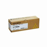 Лазерный картридж Ricoh SP C360X (Оригинальный Желтый - Yellow) 408253