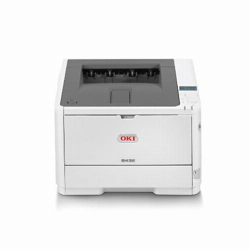 Принтер Oki B412dn (А4, Лазерный, Монохромный (черно - белый), USB, Ethernet) 45762002
