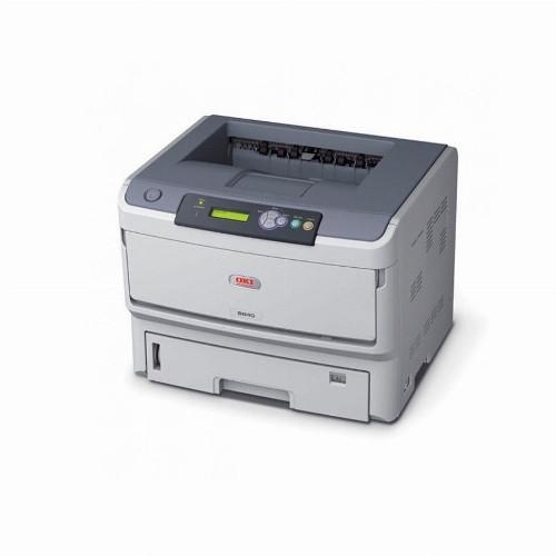 Принтер Oki B840DN (А3, Лазерный, Монохромный (черно - белый), USB, Ethernet) 1308001
