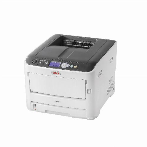 Принтер Oki C612n (А4, Лазерный, Цветной, USB, Ethernet) 46406003