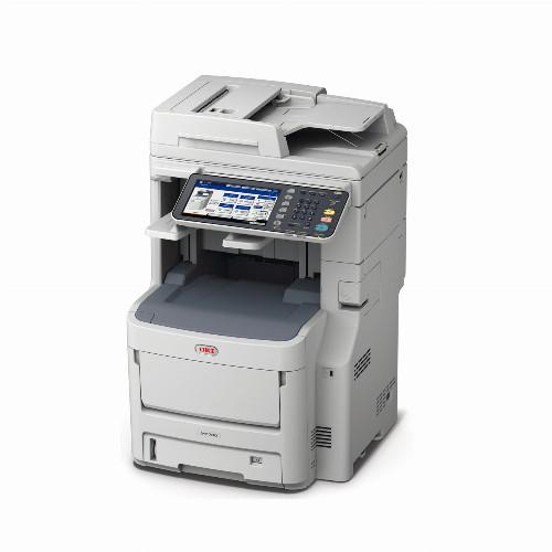 МФУ Oki MC780DFNFAX (Лазерный, A4, Цветной, USB, Ethernet, Планшетный) 45377014