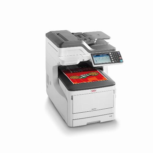 МФУ Oki MC853dn (Лазерный, A4, Цветной, USB, Ethernet, Планшетный) 45850404