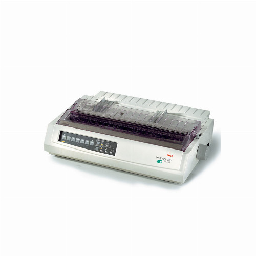 Матричный принтер Oki ML3321-ECO (Монохромный (черно - белый) 9 игл USB LPT 435 зн/сек) 1308301