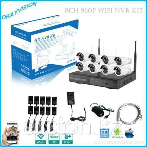 Беспроводной комплект  видеонаблюдения NVR KIT
