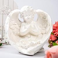 """Статуэтка """"Ангел в крыльях"""", белая, фото 1"""