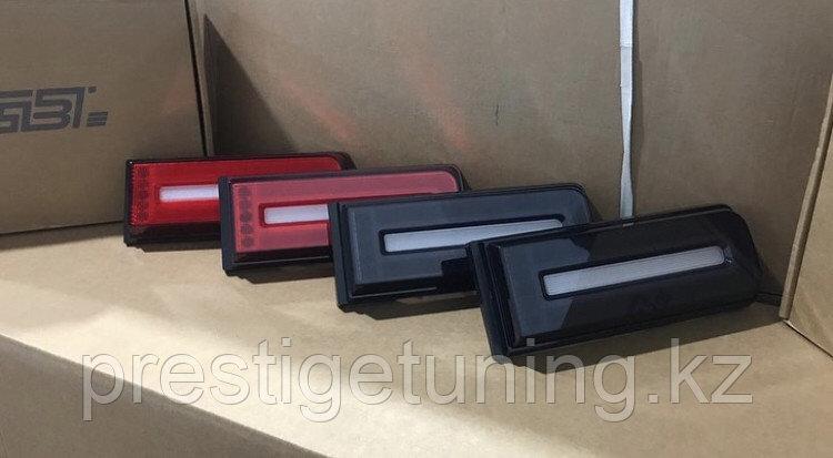 Задние фонари на G-class W463 1998-2019 стиль 19 года RED Color