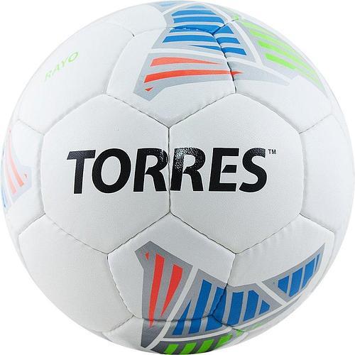 Мяч футбольный TORRES Rayo White p.5