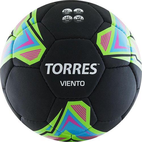 Мяч футбольный TORRES Viento Black p.5