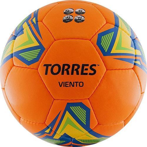 Мяч футбольный TORRES Viento Orange p.5