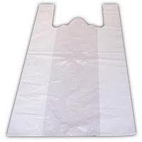 Пакеты -«маечки» на 25 кг 30 шт./упак. Белые без логотипа